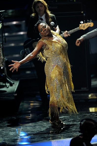Sharon Jones Beaded Dress