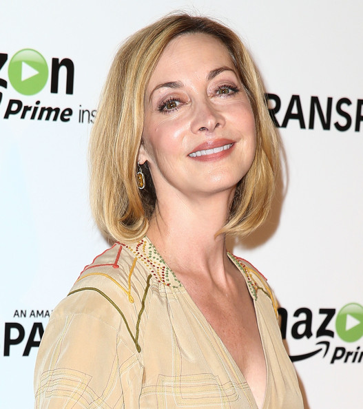 Sharon Lawrence Bob [hair,hairstyle,blond,skin,eyebrow,beauty,chin,shoulder,layered hair,hair coloring,red carpet,sharon lawrence,california,los angeles,ace hotel,amazon studios,premiere,premiere]