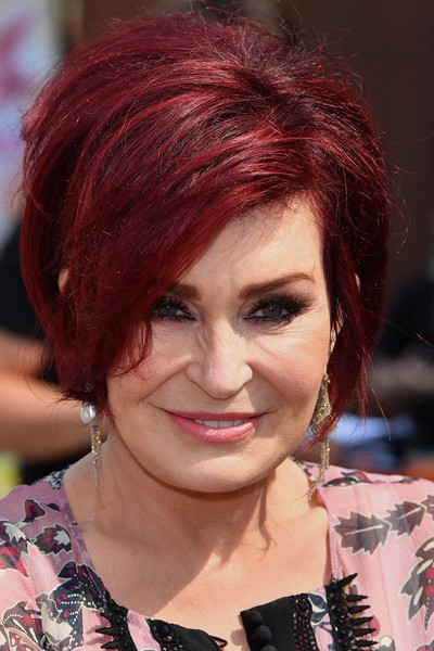 Sharon Osbourne Bob [x factor,photocall,hair,face,hairstyle,red hair,hair coloring,eyebrow,chin,bob cut,lip,black hair,judges,sharon osbourne,liverpool,england,the titanic hotel,auditions,auditions]