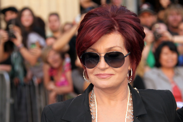 Sharon Osbourne Short Side Part [gnomeo and juliet,eyewear,hair,sunglasses,glasses,hairstyle,beauty,vision care,fashion,chin,lip,arrivals,sharon osbourne,california,hollywood,el capitan theatre,touchstone pictures,premiere,premiere]