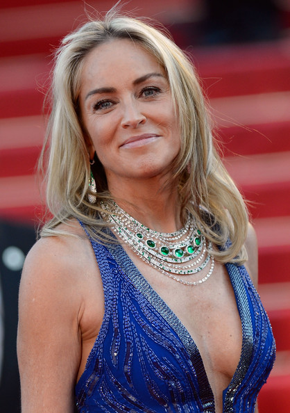 Sharon Stone Layered Cut