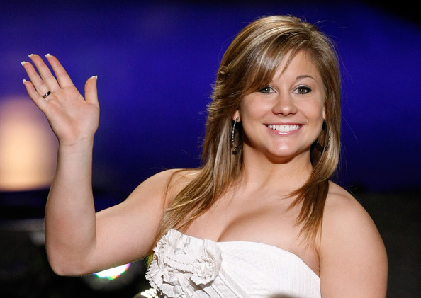 Shawn Johnson Long Straight Cut with Bangs