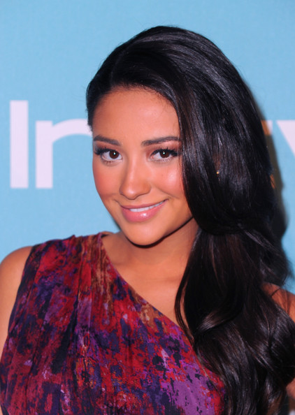 Shay Mitchell Layered Cut