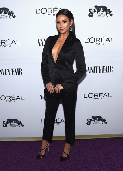 Shay Mitchell Pantsuit