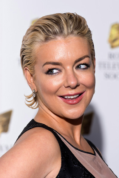 Sheridan Smith Short Straight Cut [hair,face,hairstyle,blond,eyebrow,chin,shoulder,lip,beauty,cheek,red carpet arrivals,sheridan smith,rts programme awards,the grosvenor house hotel,london,england]