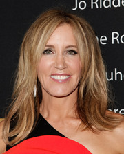 Felicity Huffman went retro with this flippy 'do at the Showtime Emmy eve party.