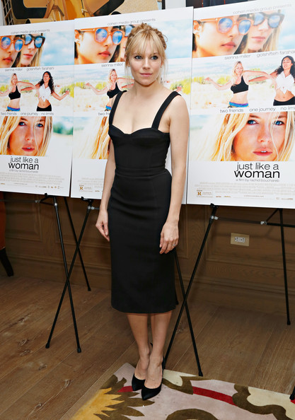 Sienna Miller Little Black Dress