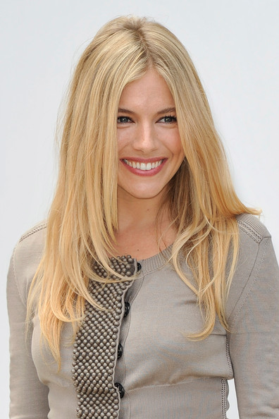 Sienna Miller Layered Cut