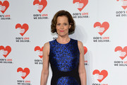 Sigourney Weaver Print Dress