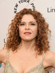 Bernadette Peters stuck to her signature tight curls when she attended the Sinatra Voice for a Century event.