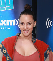 Dascha Polanco worked a trendy top knot at the anniversary of Andy Cohen's SiriusXM channel.