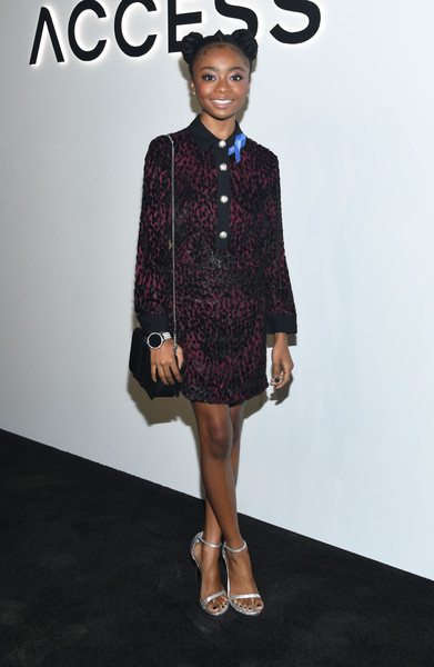 Skai Jackson Shirtdress