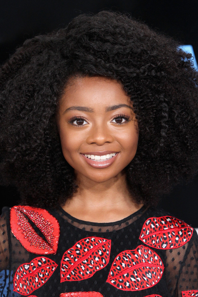 Skai Jackson Afro Hair Lookbook Stylebistro