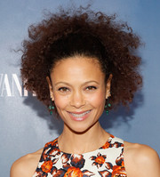 Thandie Newton looked sassy at the premiere of 'The Slap' wearing her hair in a shock of curls.