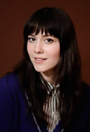 Mary Elizabeth Winstead attended the 2012 Sundance Film Festival with her long chestnut tresses sleek and straight.