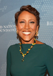 Robin Roberts sported a fauxhawk at the Social Good Summit.