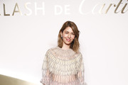 Sofia Coppola Sheer Dress