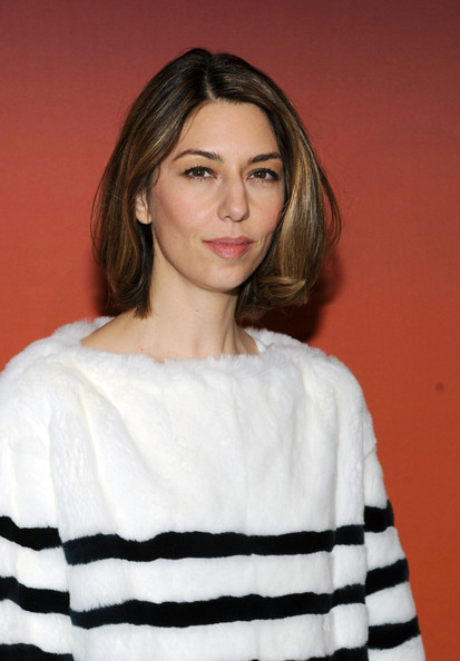 Sofia Coppola Hair