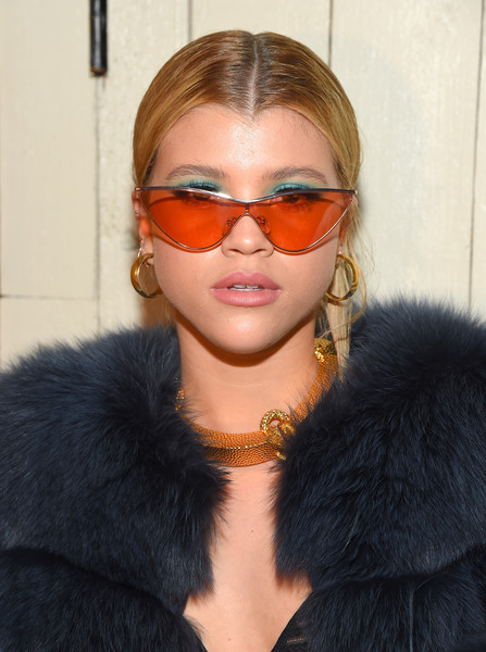 Sofia Richie Gold Hoops
