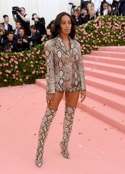 Solange Knowles Over the Knee Boots