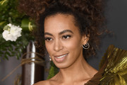 Solange Knowles Messy Updo