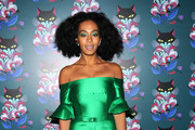 Solange Knowles Off-the-Shoulder Dress