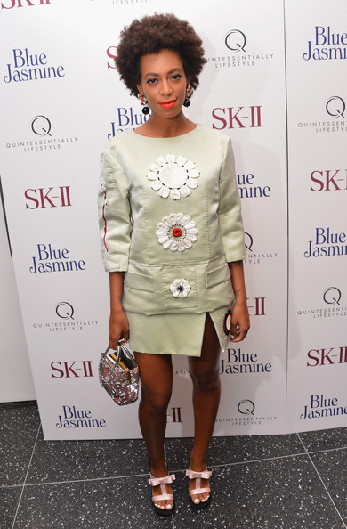 Solange Knowles Embellished Top
