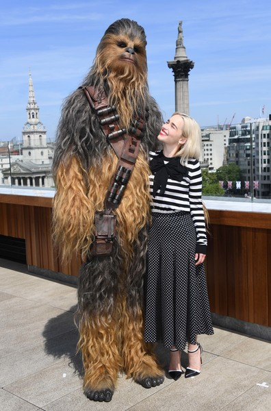 More Pics of Emilia Clarke Bob (5 of 13) - Short Hairstyles Lookbook - StyleBistro [solo: a star wars story - photocall,solo: a star wars story,chewbacca,briard,sporting group,fictional character,canidae,emilia clarke,photocall,chewbacca,london,united kingdom]