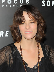 Parker Posey showed off cute curls at the 'Somewhere' premiere.
