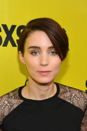Rooney Mara looked boyish wearing this short side-parted 'do at the SXSW premiere of 'Song to Song.'