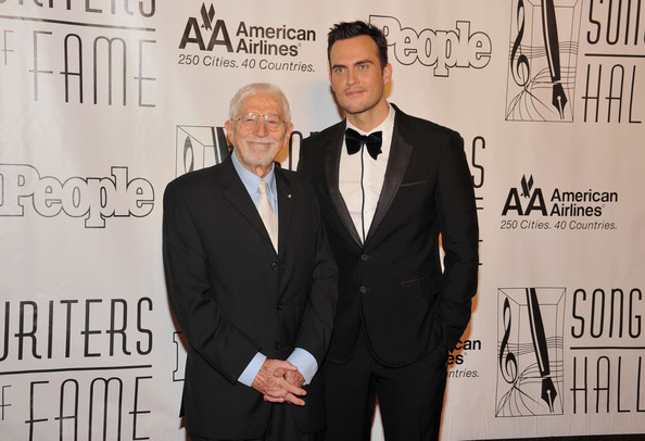 Cheyenne Jackson looked oh-so-stylish in a black tux and velvet bow tie.