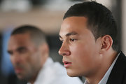 Sonny Bill Williams kept it easy-breezy with a buzzcut during his press conference.