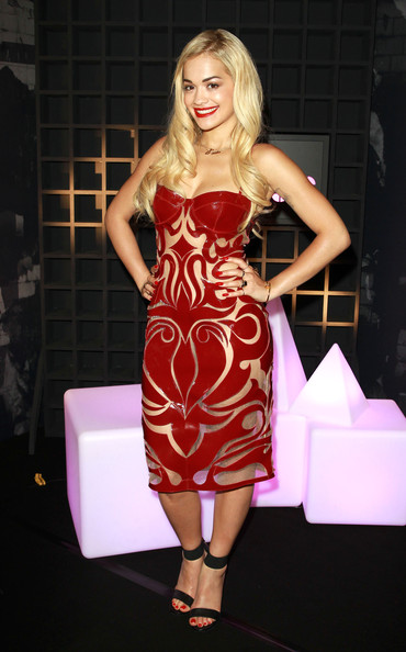 More Pics of Rita Ora Cutout Dress (1 of 9) - Rita Ora Lookbook - StyleBistro