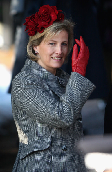 Sophie Countess of Wessex Leather Gloves