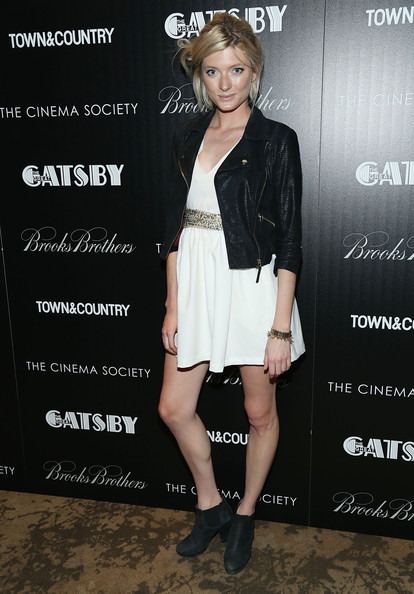 Sophie Sumner Leather Jacket
