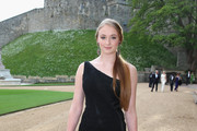 Sophie Turner One Shoulder Dress
