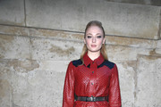 Sophie Turner Patent Leather Purse