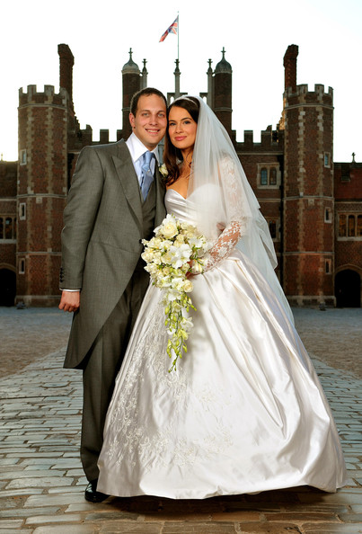 Sophie Winkleman Wedding Dress [frederick windsor,sophie winkleman,wedding dress,bride,photograph,gown,bridal clothing,marriage,veil,ceremony,wedding,dress,sophie winkleman wedding,wedding,base court,chapel royal,richmond,england,thames,hampton court palace]