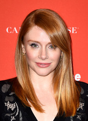 Bryce Dallas Howard showed off a super-sleek hairstyle with side-swept bangs at the Sundance Film Fest premiere of 'Southside with You.'