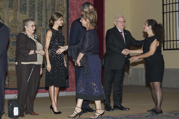 More Pics of Queen Letizia of Spain Sequin Dress (1 of 18) - Dresses & Skirts Lookbook - StyleBistro