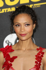 Thandie Newton looked sweet and lovely with her curly updo at the special BFI screening of 'Solo: A Star Wars Story.'