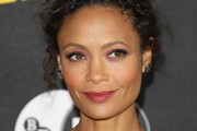 Thandie Newton Curly Updo