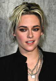 Kristen Stewart sported her signature messy cut at the special fan screening of 'Underwater.'