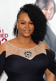 "Singer songwriter Jill Scott showed off her curly Q's at the premiere of ""Why Did I Get Married Too?. Her half braided mane was sleek and ultra hip."