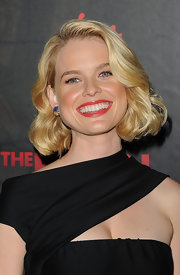Alive Eve arrived at a screening of 'The Raven' wearing her hair in a soft curls.
