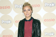 Spencer Grammer Leather Jacket