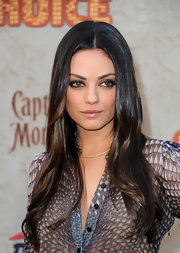 Mila Kunis walked the red carpet at Spike TV's Guys Choice Awards wearing a Tornado Pave ChokeR in 18-karat yellow gold with pave diamonds.