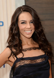 Terri Seymour kept her chocolate tresses wavy and flawless at Spike TV' 'Guys Choice 2013.'