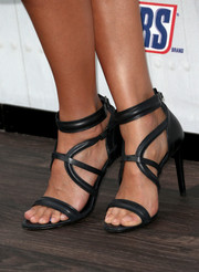 Jessica Alba chose insanely strappy sandals by Hugo Boss for Spike TV's 'Guys Choice 2014.'