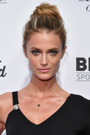 Kate Bock looked cool with her loose top knot at the SI Sportsperson of the Year 2016.